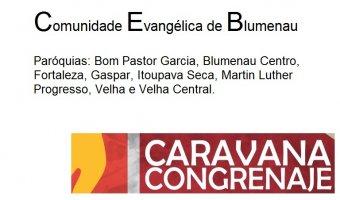 Comunidade Evangélica de Blumenau - Caravana CONGRENAJE 2018